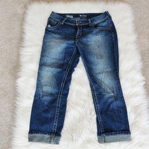 Ricki's revolution claire capri jeans size 30